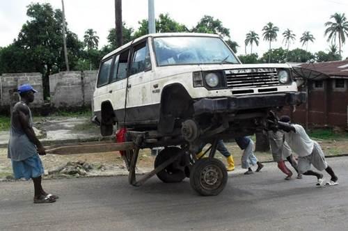 Car Removal Service Sierra Leone