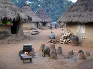 Traditional African Village