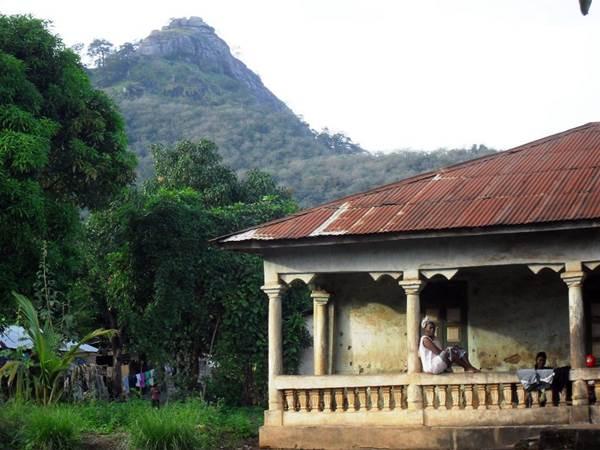 Sierra Leone Colonial Building