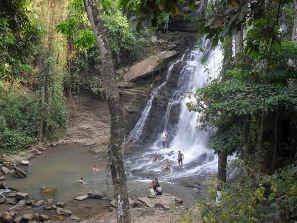 Kintampo Waterfalls Ghana, Overland Group Tour