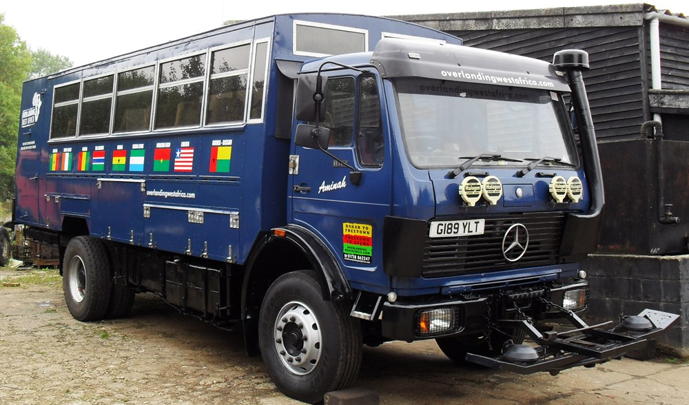 Overlanding West Africa, Trans Africa Tours