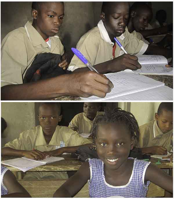 Students In Conakry, Guinea