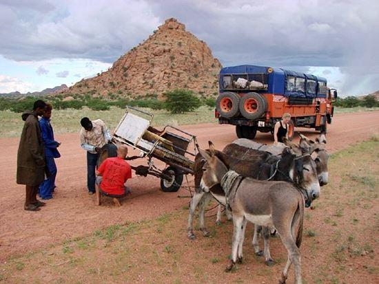 West Africa Overland Jason Parry