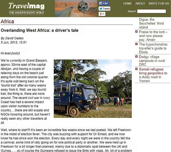 Overlanding-West-Africa-Tours-In-Travel-Magazine
