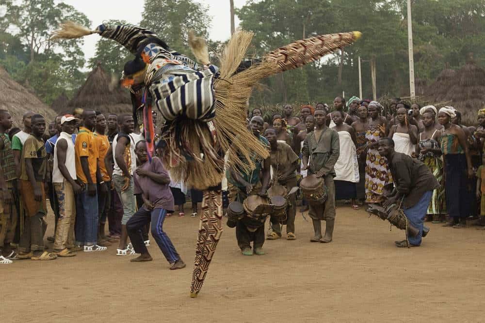 Stilt -Dancing- IvoryCoast- WestAfrica-Tourism