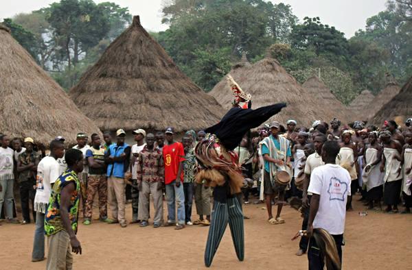Ivory-Coast-Tour-West-Africa-Overland-Stilt-Dancer